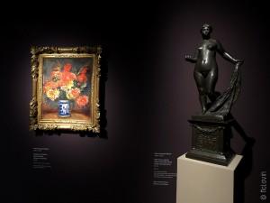 Oeuvres de Renoir dans l'exposition Verzauberte Zeit / Temps enchantés à la Kunsthalle de Hambourg