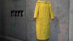 Le manteau Woolmark qui a lancé la carrière de Karl Lagerfeld © WDR/Kretz-Mangold
