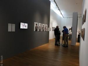 Dernier espace de l'exposition avec une approche plutôt ethnologique.