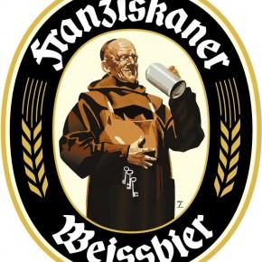 Le logo de la Franziskaner Weissbier imaginé par Ludwig Hohlwein