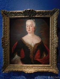 Portrait de Maria Aurora Van Königsmarck