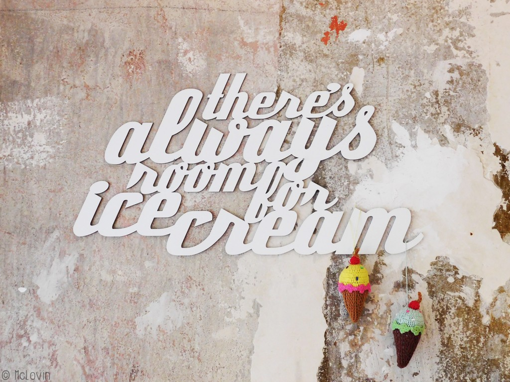 "Déco intérieure au Delzepich Eix : ""There's always room for an ice cream"""