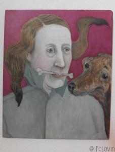 La peinture Vielfraß d'Inge Pries (2009)