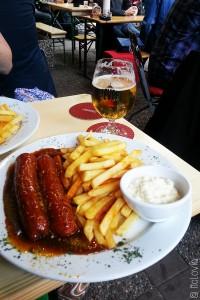 Jever, bière blonde nord-allemande et currywurst