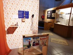 2ème partie de l'exposition avec les années 60-70