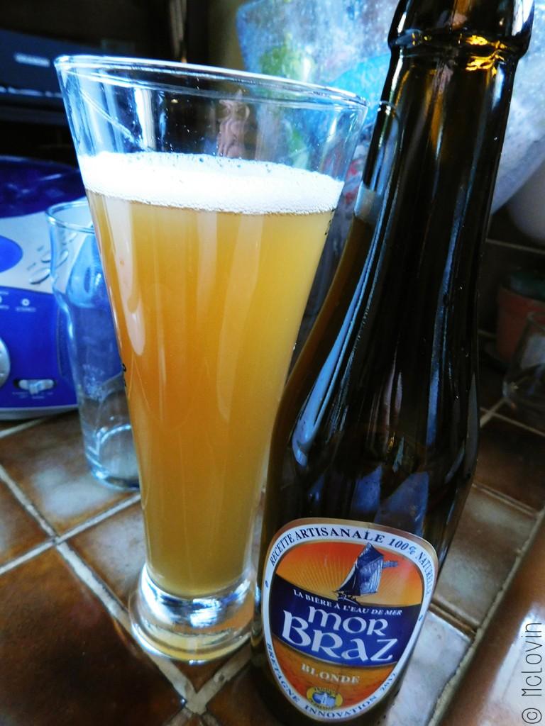 Bière et bouteille Mor Braz