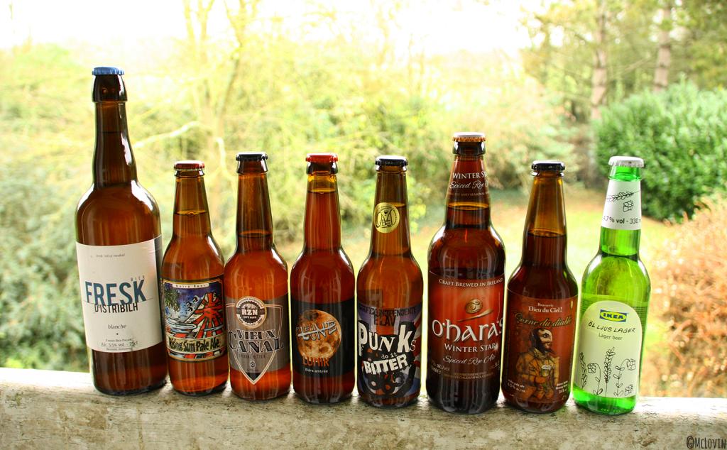 Les bières en attente pour 2016 chez McLovin !