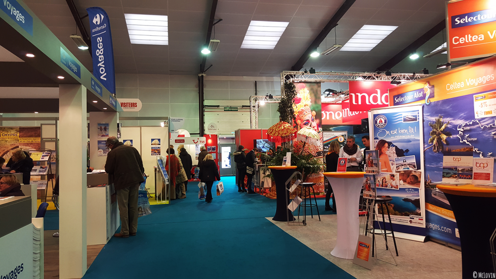 Hall international du Salon du Tourisme de Rennes édition 2016