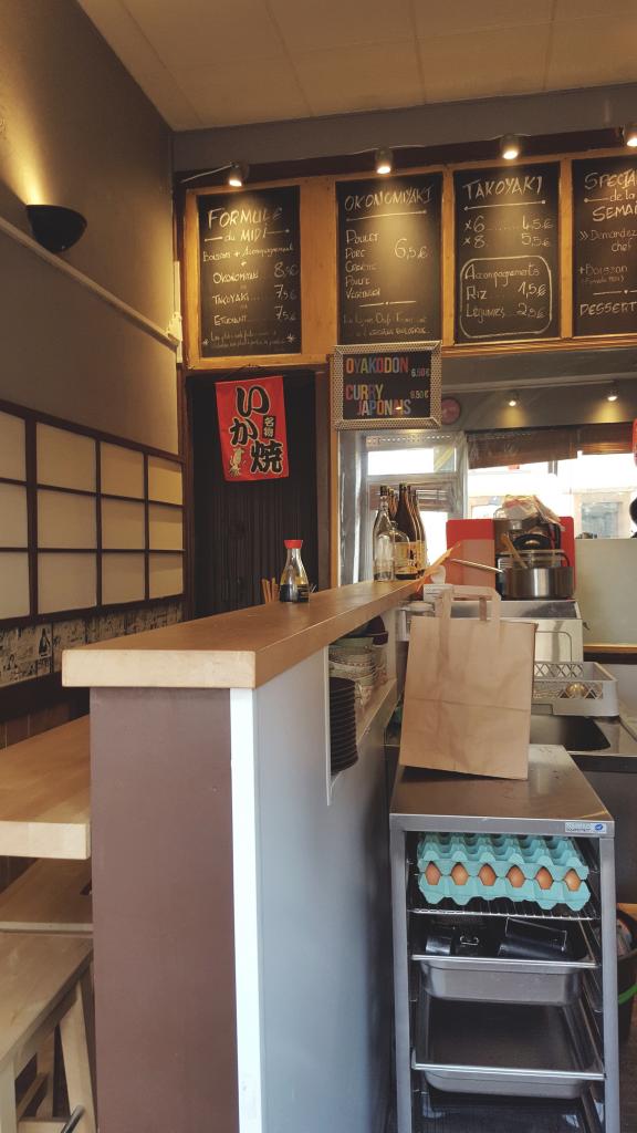 Oïshi Kata, restaurant japonais de takoyaki et okonomiyaki à Rennes