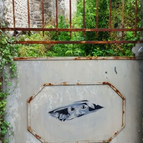 Photo Instagram de street art à Dinan pour l'Instameet Dinan Léhon 2016