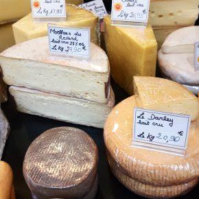 Photo Instagram de fromages aux Halles de Dinan pour l'Instameet Dinan Léhon 2016
