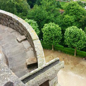 Photo Instagram du haut du Château de Dinan pour l'Instameet Dinan Léhon 2016