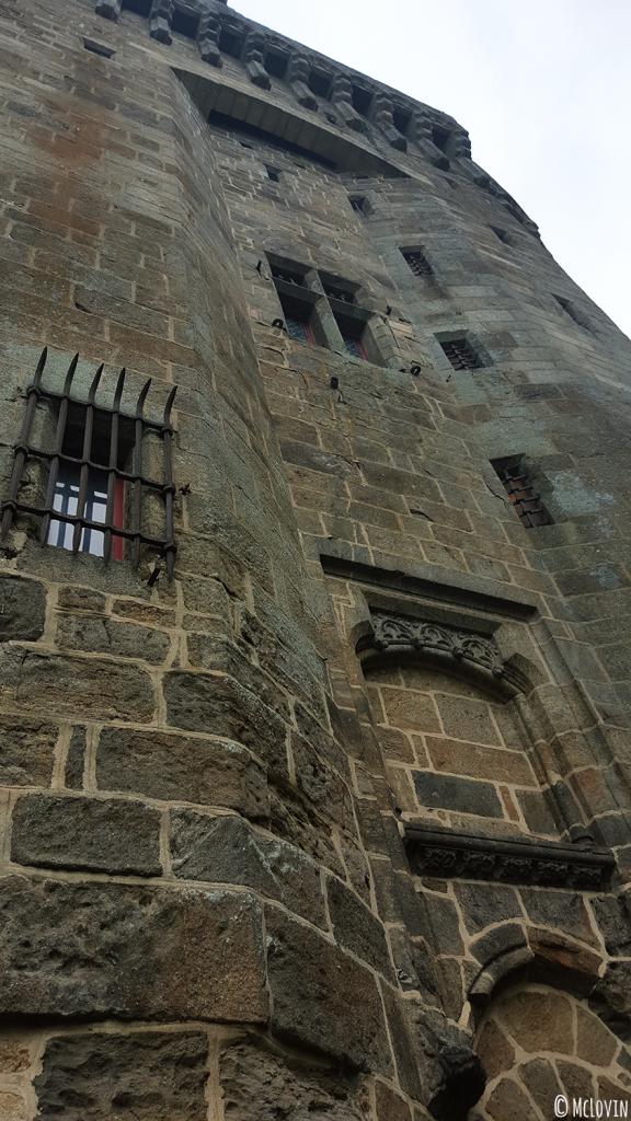 Le château de Dinan lors de l'Instameet Dinan Léhon 2016