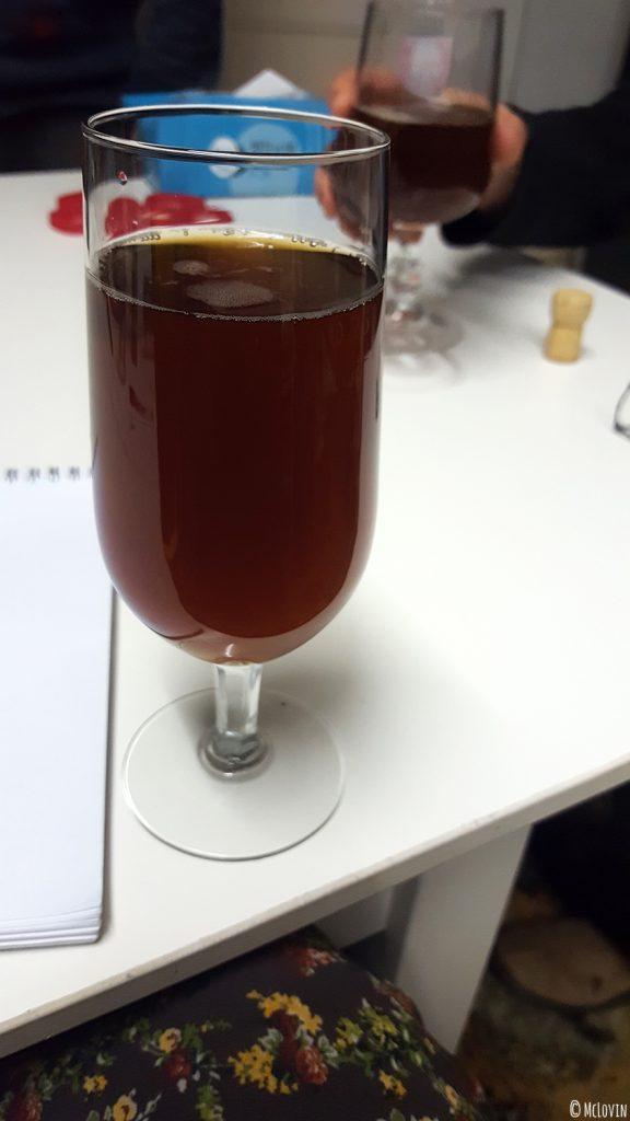 Dégustation de la Mélusine de Noël, bière de saison par la brasserie vendéenne Mélusine