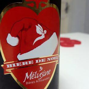 Bouteille de Mélusine de Noël, bière de saison par la brasserie vendéenne Mélusine