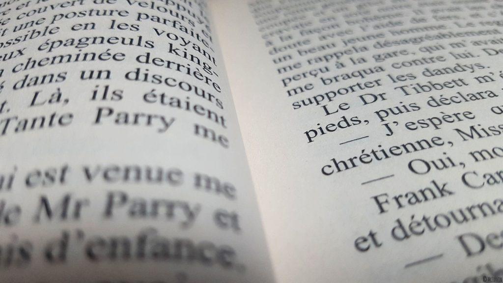 """L'intérieur du livre """"Un intérêt particulier pour les morts"""" d'Ann Granger collection Grands détectives chez 10/18."""