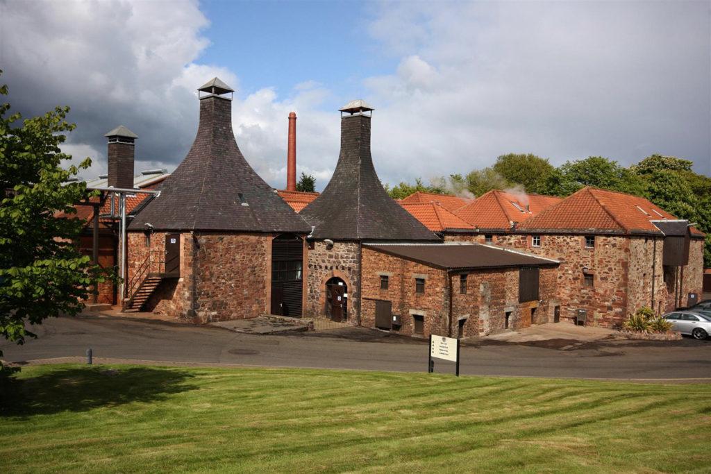 La brasserie historique Belhaven à Dunbar en Ecosse qui produit la bière brune Scottish Oat Stout.