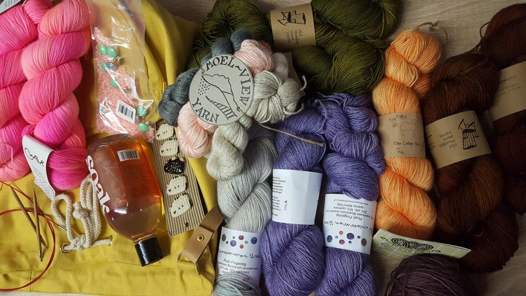 Mes achats du Edinburgh Yarn Festival 2018, festival de laine et de tricot d'Édimbourg en Écosse.