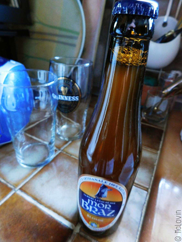 Bouteille de bière Mor Braz